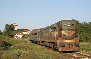 Lokaaltrein Brčko - Tuzla 2008
