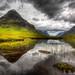 Cloudy mirror in Glencoe, West Highlands, Scotland by Loïc Lagarde