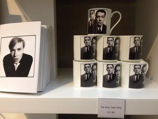 Kray mugs at the Mound