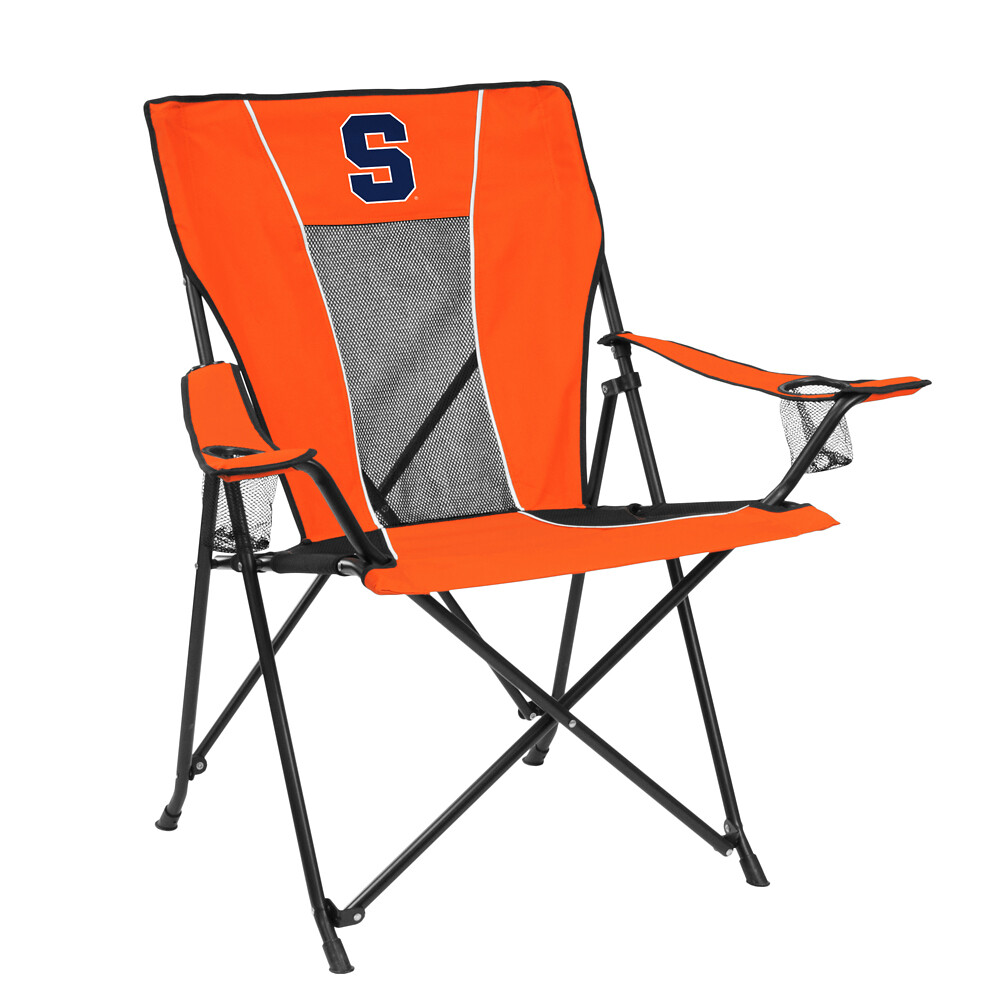 Syracuse Game Time TailGate/C&ing Chair Features NCAA Sports Team u0026 Foldable Design  sc 1 th 225 & Syracuse Game Time TailGate/Camping Chair Features NCAA Sports Team ...