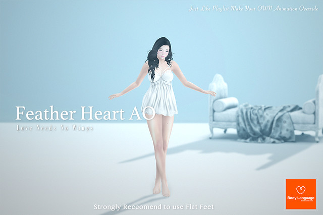 Feather Heart AO @ MIX