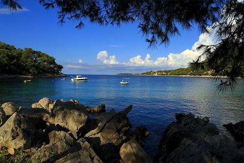 summer mediterranean croatia adriatic hrvatska korčula prižba