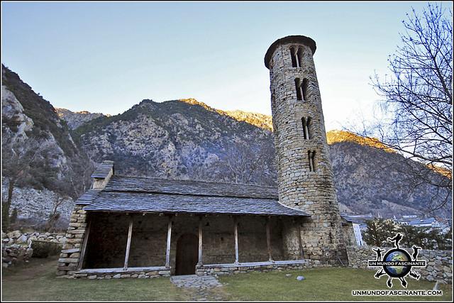 Iglesia de Santa Coloma, Andorra.