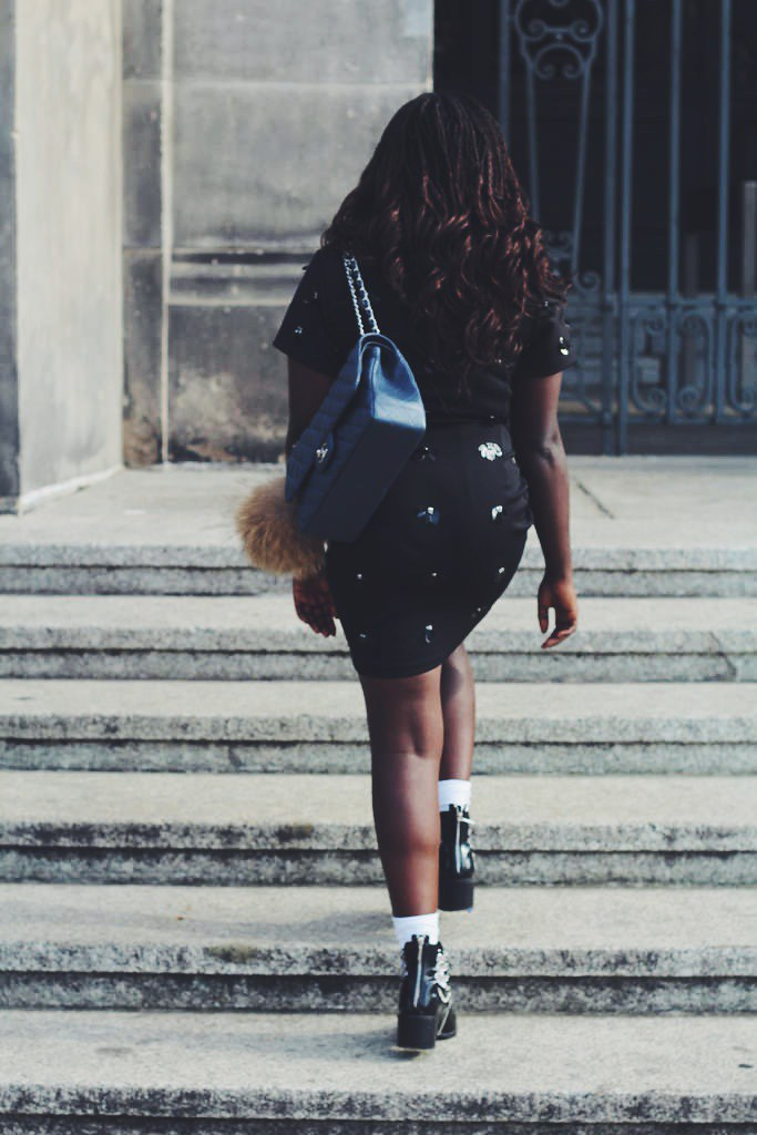 Chanel look outfit Lois Opoku lisforlois