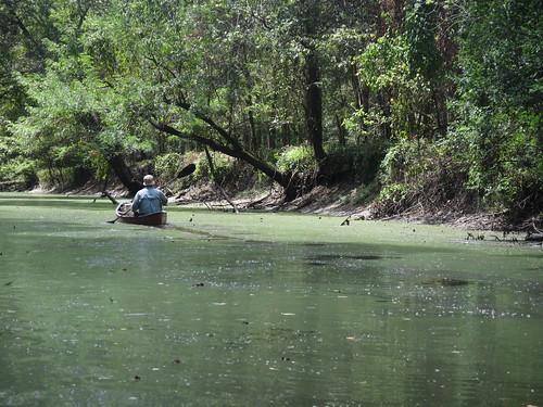 Canoe trail trail.