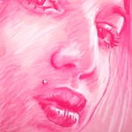 Christina. #8. Conte crayon on paper. ALAN MORLEY