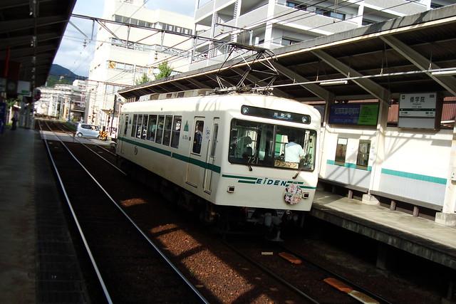 2015/09 叡山電車×わかばガール ヘッドマーク車両 #21