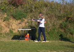 clay pigeon shooting(0.0), shooting sport(1.0), shooting(1.0), sports(1.0), recreation(1.0), outdoor recreation(1.0),