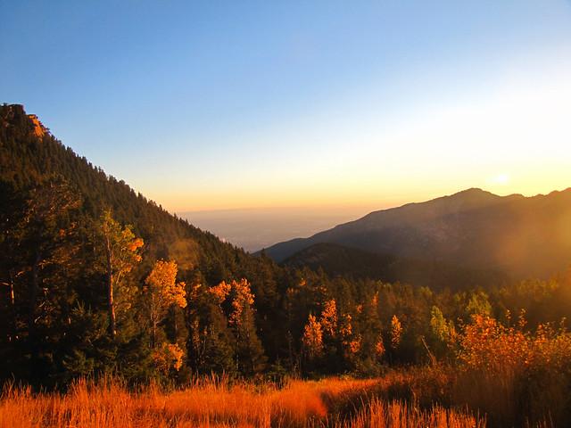 A beautiful fall morning.
