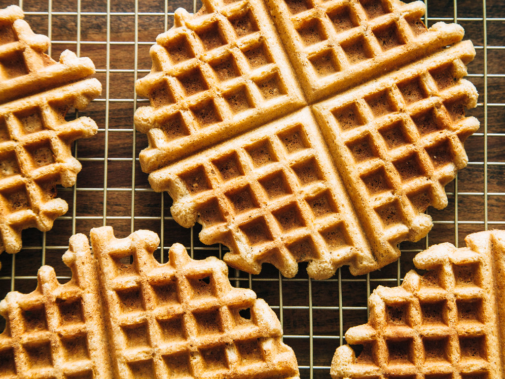 Gluten free maple waffles
