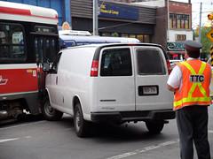 Streetcar collision