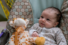 Lily and giraffe-2