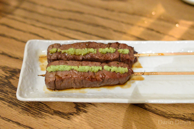 Kobe Beef Filet with Wasabi