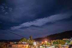 Η υπερπανσέληνος πάνω από την Ψίνθο λίγες ώρες πριν την ολική έκλειψη (2015)