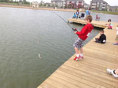 2015 Fishing Frenzy at Saxony Lake and Beach