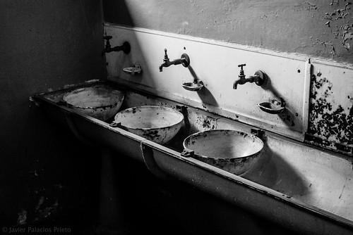 Waschbecken Buchenwald, Nazi Concentration Camp WWII