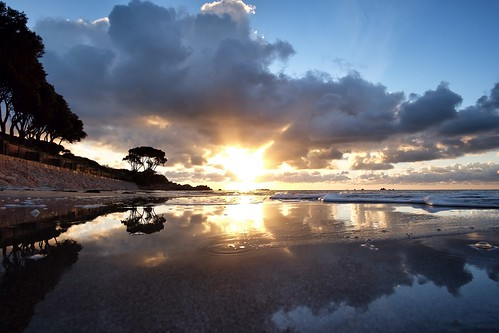 sunset seascape sunrise reflections fuji 12 samyang xt1