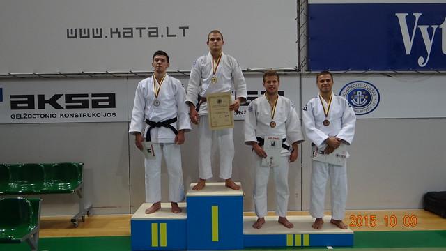 Ramūnas Diburys - Lietuvos Dziudo Čempionas