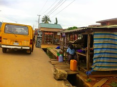 Street Market in Ilesa