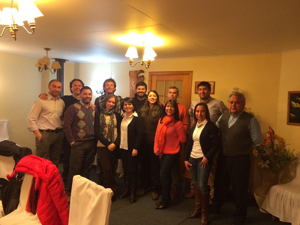 AFIICH Nacional visitó a asociados/as en Coyhaique - 16 Septiembre 2015