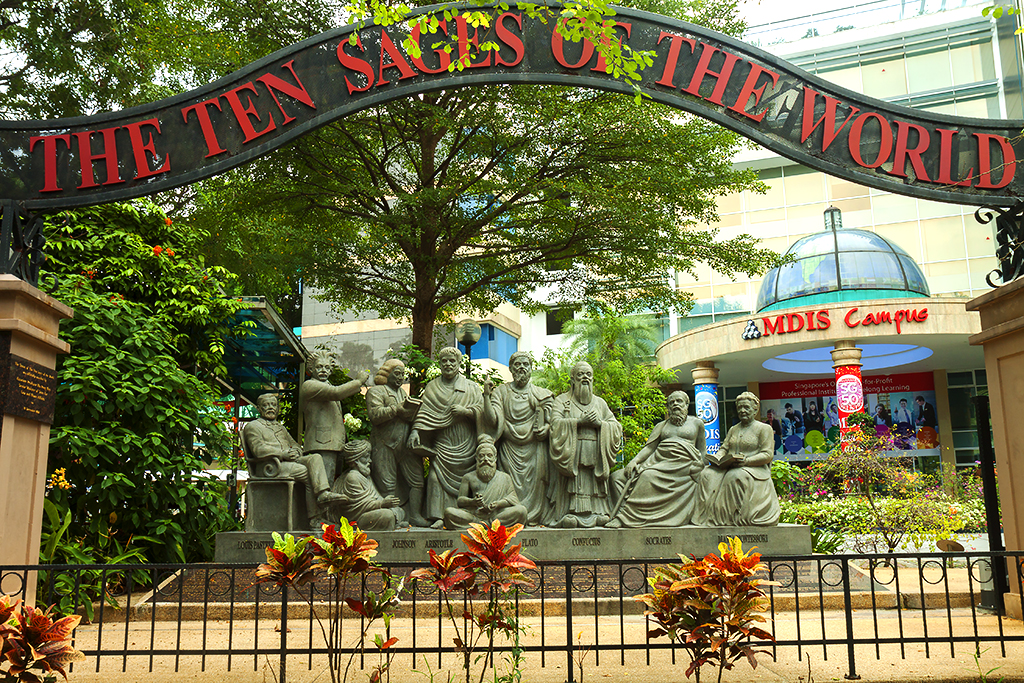 THE TEN SAGES OF THE WORLD--Singapore