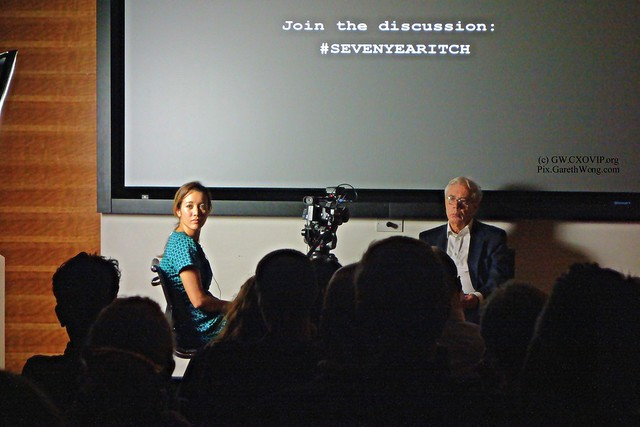 Caroline Macfarland & John Kay in conversation Nov2015 from RAW _DSC5316 #SevenYearItch