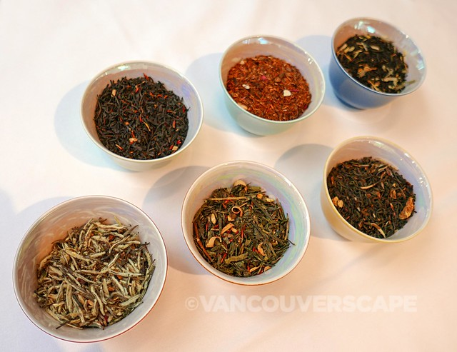 Urban Tea Merchant holiday tea selection
