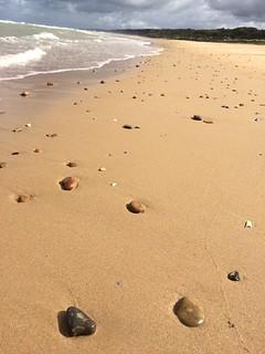 Omaha Beach, peace