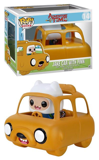 FUNKO RIDES 系列【探險活寶:老皮專車】Jake Car With Finn