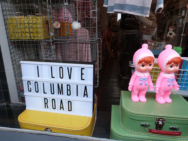 I love Columbia Road