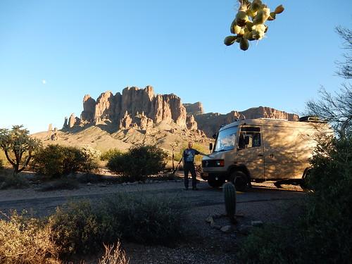 Lost Dutchman State Park - campsite