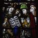 Ludlow, Shropshire, St. Laurence's, chancel, commandment windows, # 7, detail