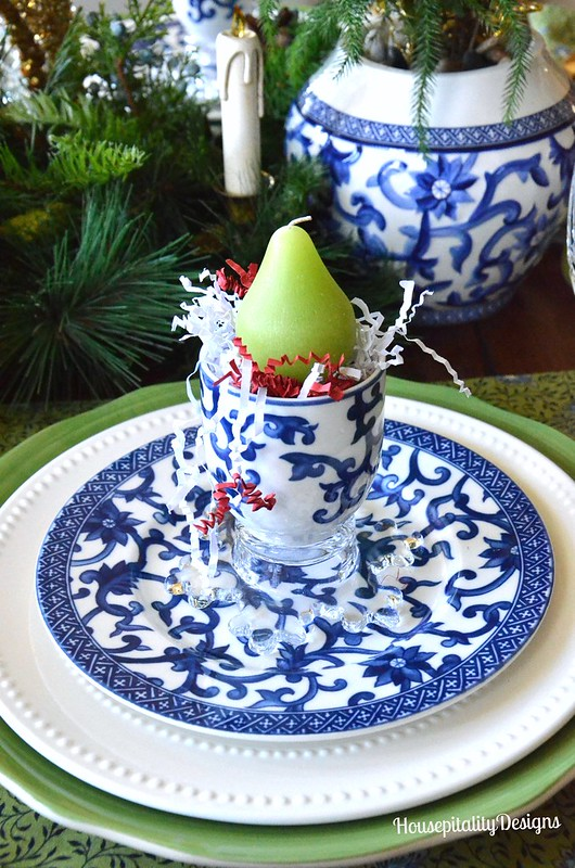 Dining Room Tablescape/Christmas 2015 - Housepitality Designs