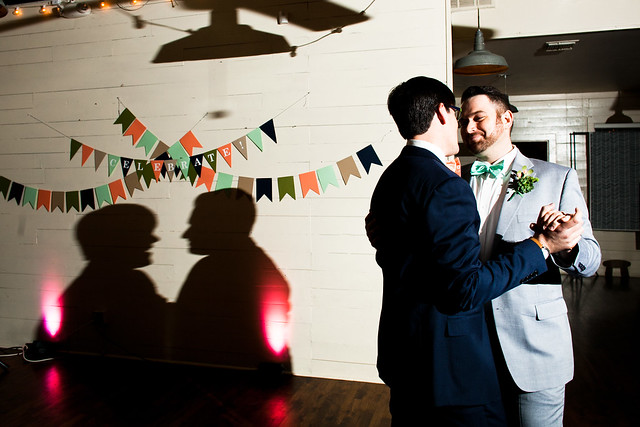 Phillip and Justin's Wedding at Palm Door in downtown Austin, Texas, lgbt wedding, gay wedding, a practical wedding