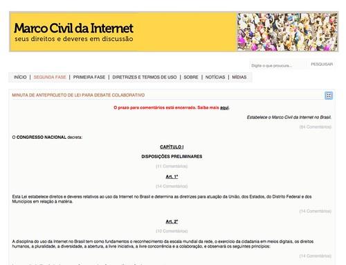 Capa Consulta marco Civil