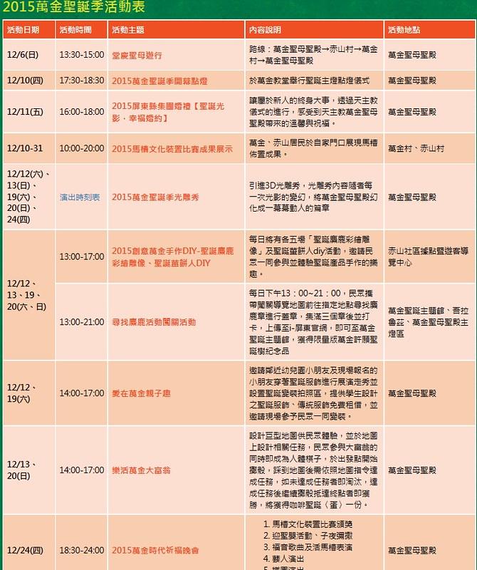 2015-萬金光活動表-2