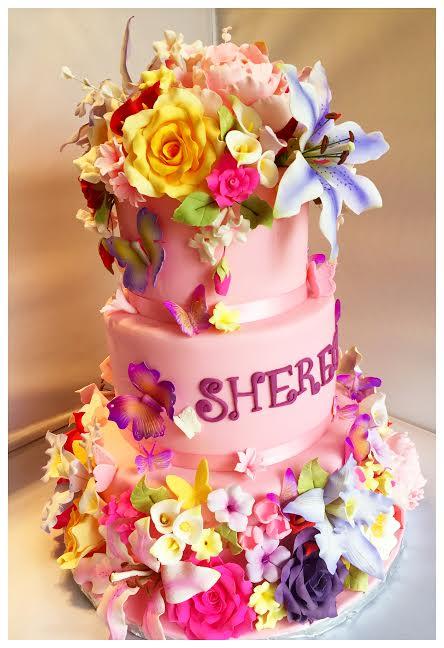 Cake by Maya Bendly of MayaBCakes.com