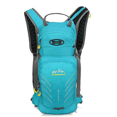 Sfeibo Cycling Hiking Daypacks 15L Hydration Packs Without Hydration Trekking Rucksacks Travel Bag (SkyBlue)