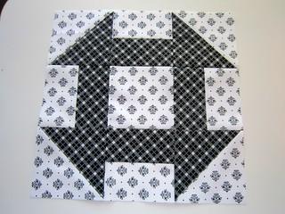 Solstice Quilt - block 1