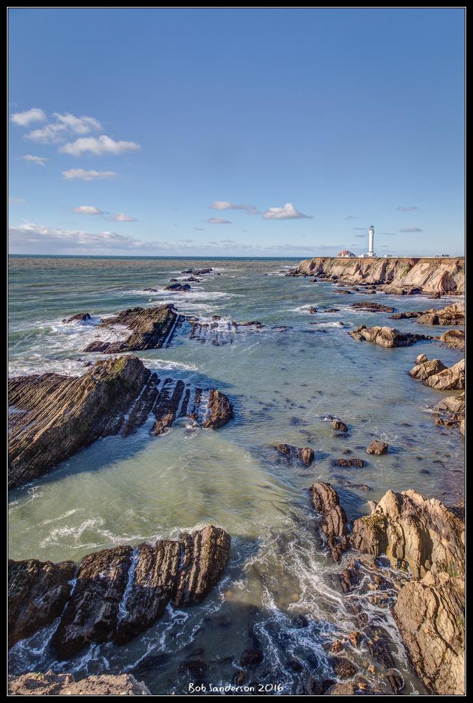 Point Arena Lighthouse Mendocino County California