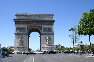 Image of Arc de Triomphe near Paris 08.