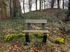 Beautiful spring bench, Hyde Park, Doorn
