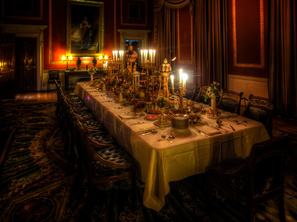 Attingham Hall - Dining Room
