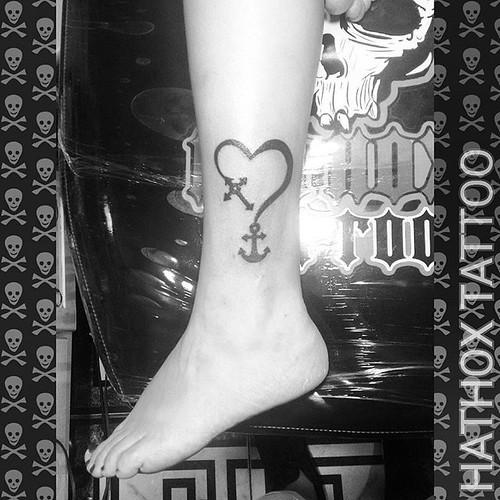 Tattoo Fé, Âncora e coração ⚓✝️❤️  Obrigado a todos que acompanha meu trabalho...🎨👊💀  HATHOX TATTOO Agende sua Tattoo pelo Whatsapp: 11 99137-1886  #anchortattoo #anchor #hearttattoo #crucifix #hathox #tattoo #tatuagem #tattoo