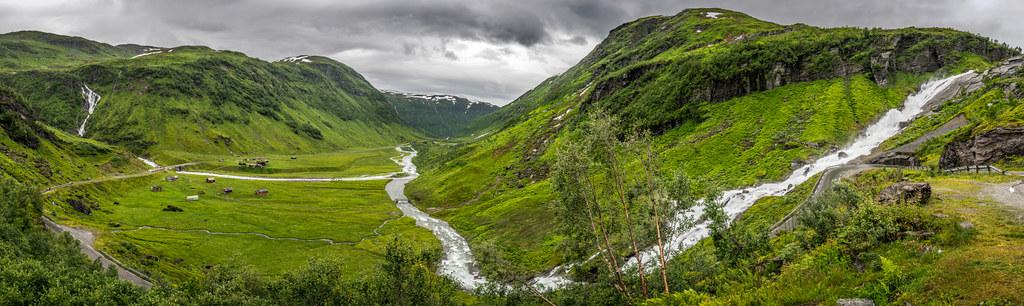 Sendefossen, Myrkdal, Norway picture