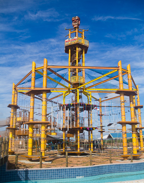 Hawaiian Falls Pflugerville Ropes Course
