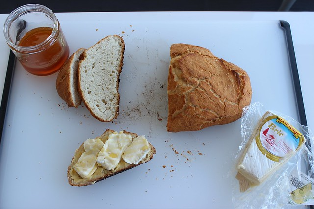 Brie and Honey Butter Sandwich