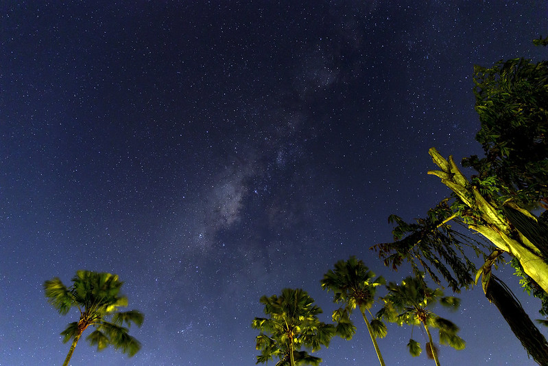 Milkyway from the heart of Bali island.