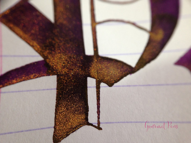 Ink Shot Review Diamine Purple Pazzazz (10)