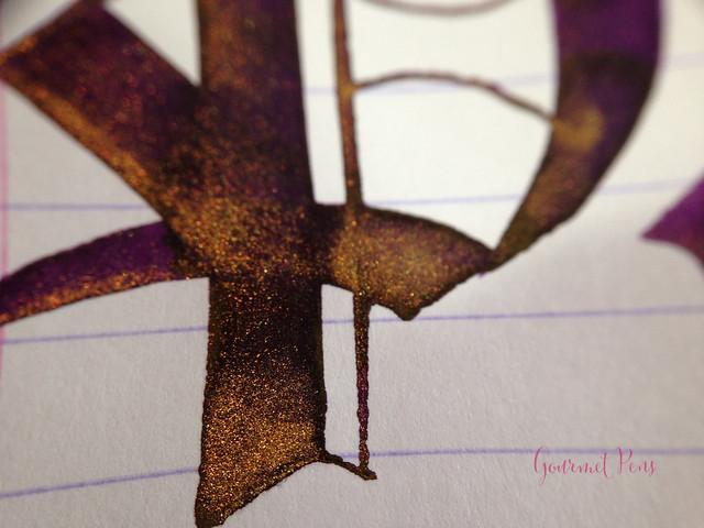 Ink Shot Review Diamine Purple Pazzazz (10)